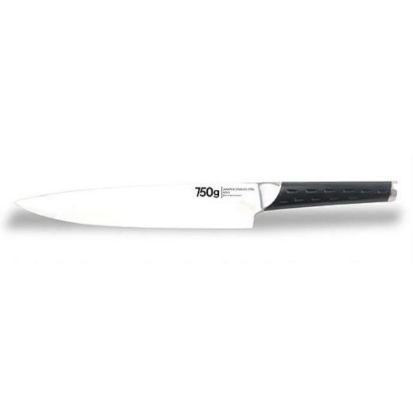 Couteau - 750 G Couteau du chef Zen - 20 cm - Pleine soie - Lame japonaise - par Claudy Lebreton