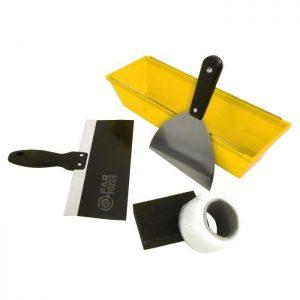 Couteau - FARTOOLS Kit à enduire du plaquiste - par Claudy Lebreton
