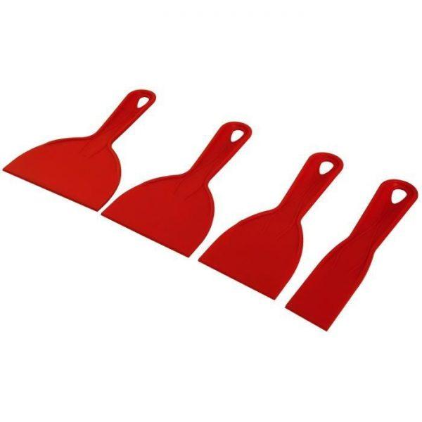 Couteau - FARTOOLS 4 couteaux à enduire pour plaquiste - par Claudy Lebreton