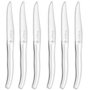 Couteau - LOU LAGUIOLE - 827246 - Coffret 6 couteaux steak - StarBlanc - par Claudy Lebreton