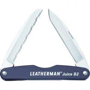 Couteau - LEATHERMAN Juice B2 en boîte - Gris - par Claudy Lebreton