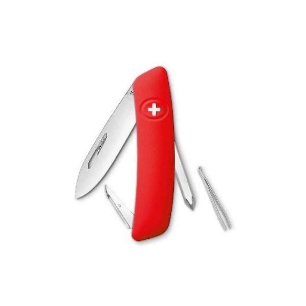 Couteau - SWIZA Couteau Suisse D02 Rouge - par Claudy Lebreton